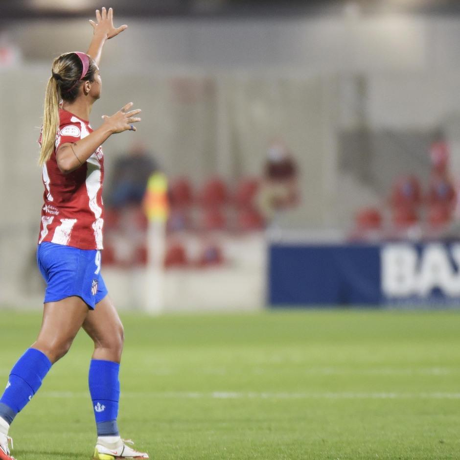 Temp. 21-22 | Atlético de Madrid Femenino - Rayo Vallecano | Celebración Deyna