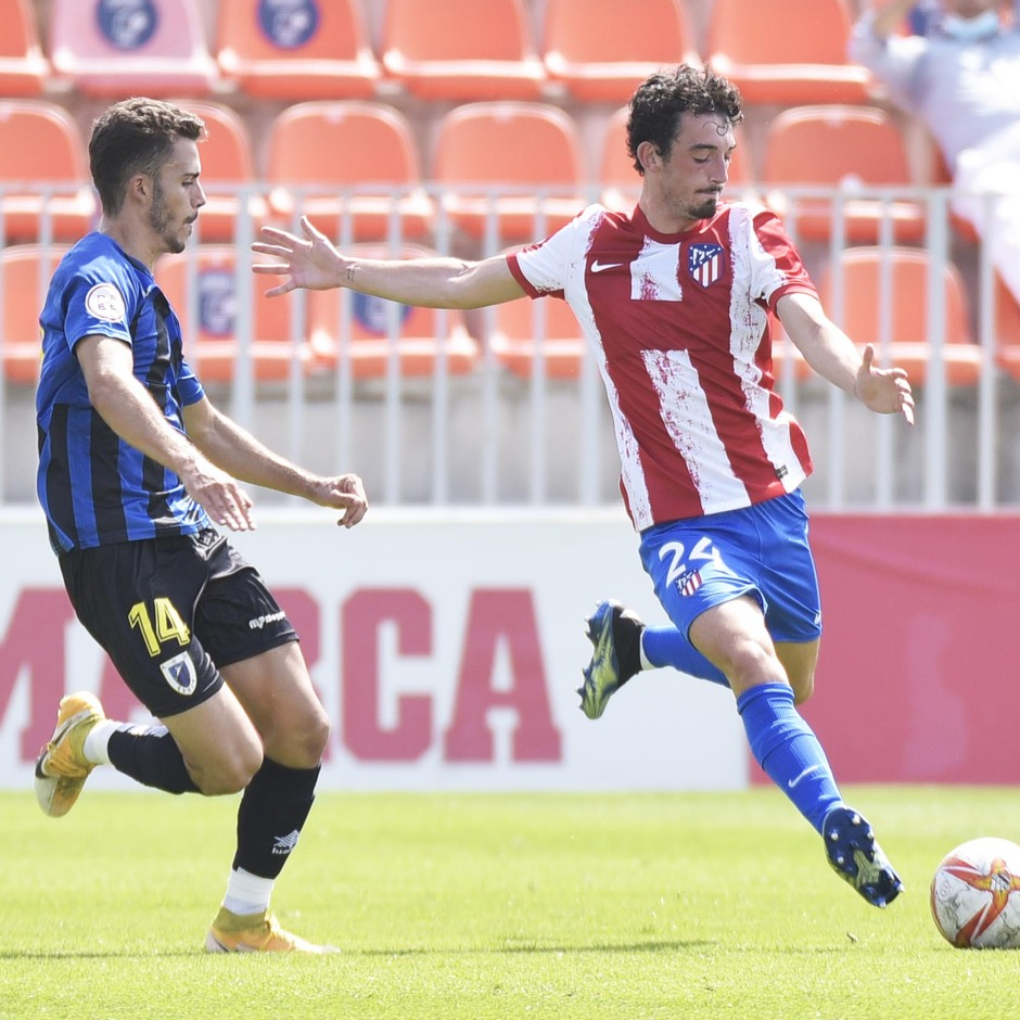 Temp. 21-22 | Atlético de Madrid B - AD Parla | Corral