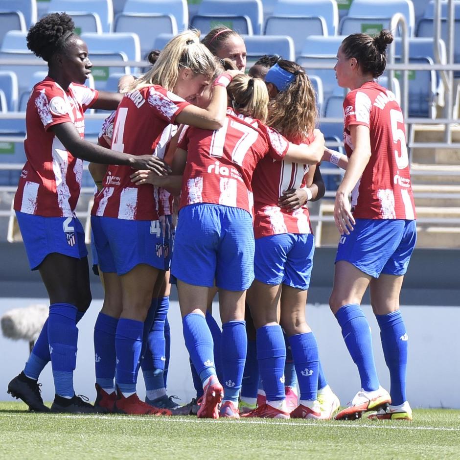 Temporada 20-21 | Real Madrid - Atlético de Madrid Femenino | Piña gol Banini