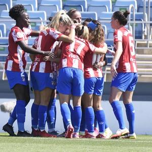 Temporada 20-21   Real Madrid - Atlético de Madrid Femenino   Piña gol Banini