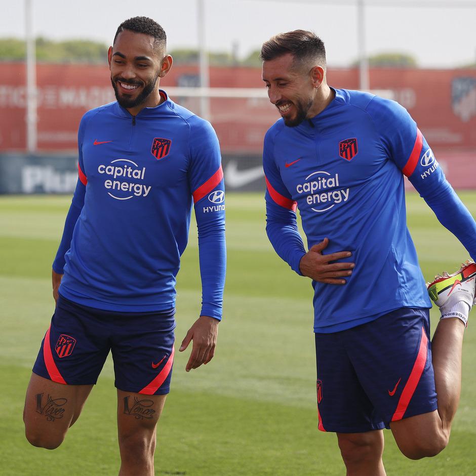 Temporada 2021/22 | Entrenamiento 16/09/21 | Cunha y Herrera