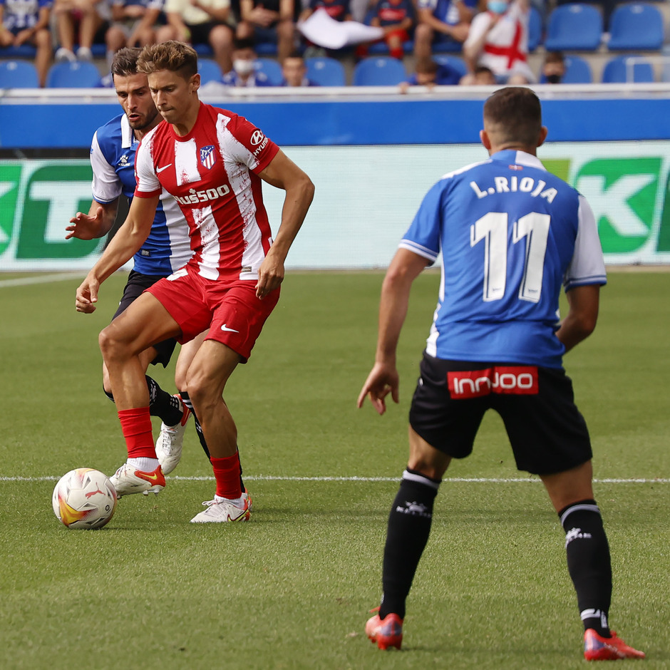 Temporada 2021/22   Alavés - Atlético de Madrid   Llorente