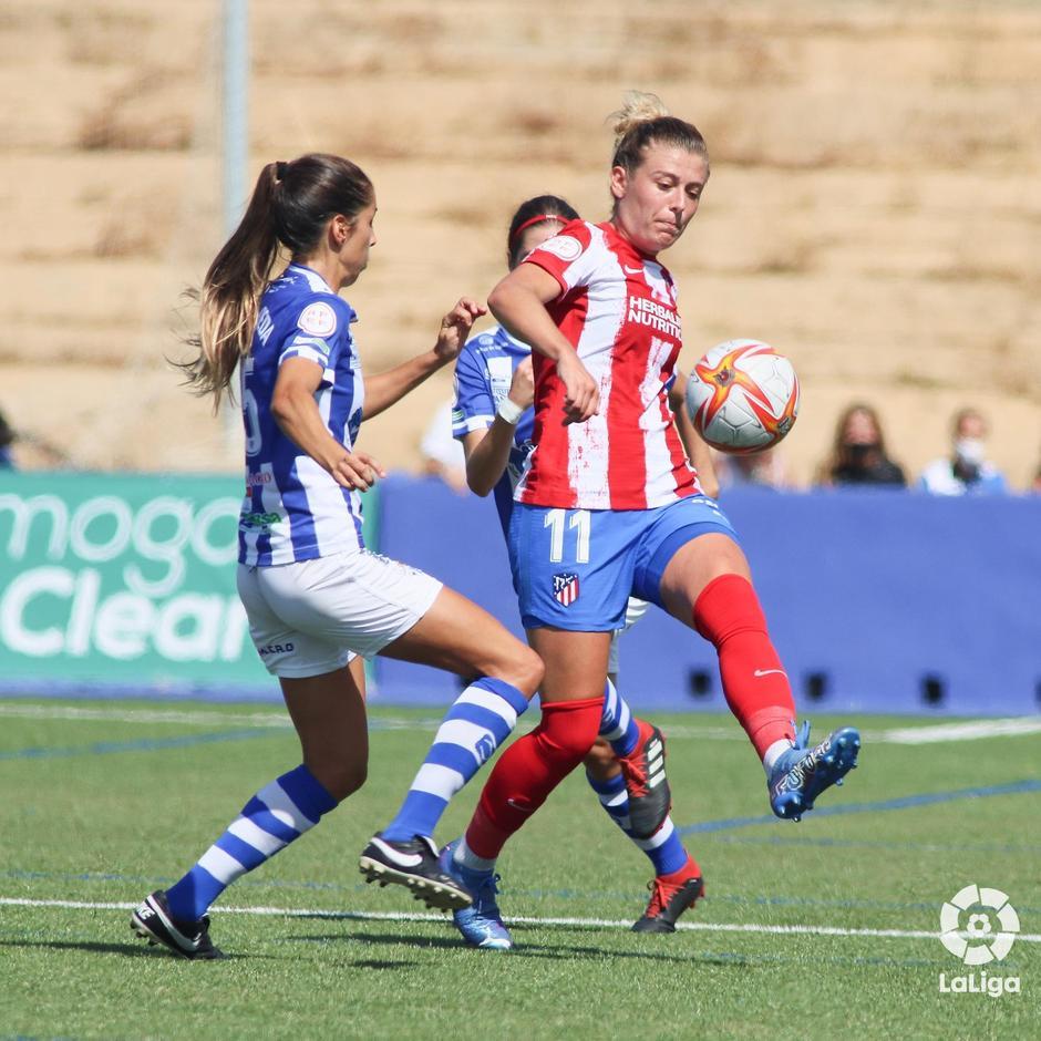 Temp. 21-22 | Sporting de Huelva - Atlético de Madrid Femenino | Menayo