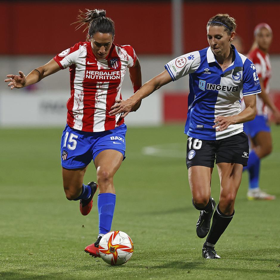 Temporada 2021/22 | Atlético de Madrid Femenino-Alavés | Meseguer