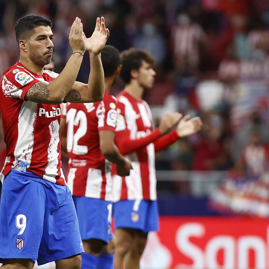 Temporada 2021/22 | Atlético de Madrid - FC Barcelona | Aplausos