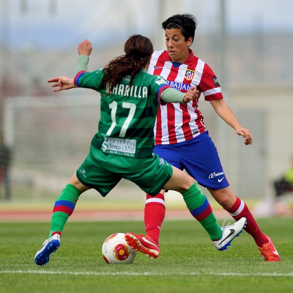 Temporada 2013-2014. Atlético de Madrid Féminas-Levante UD