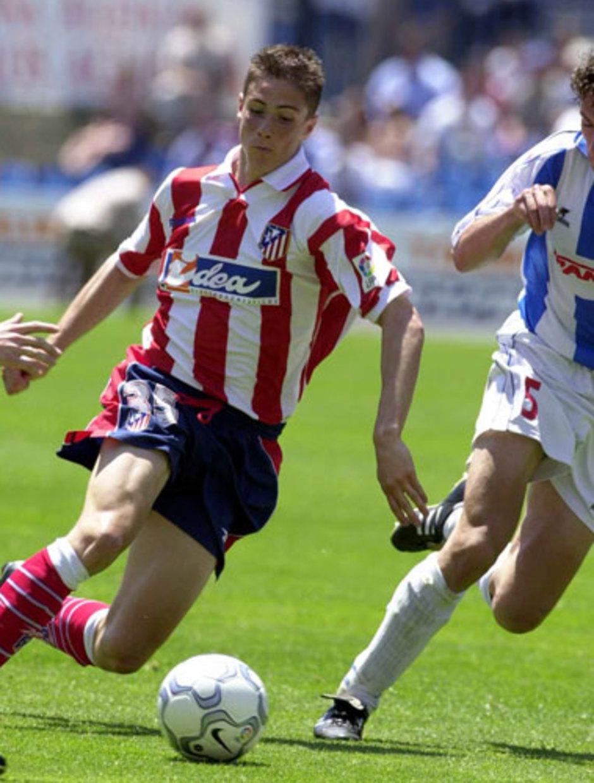 Fernando Torres debuta con el Atlético de Madrid ante el Leganés