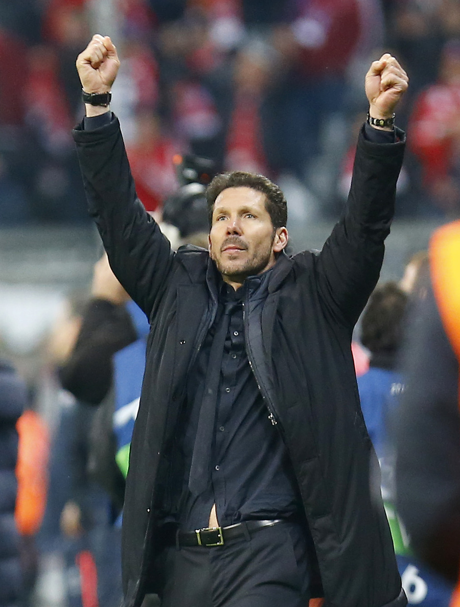 Temp. 2015-2016 | Bayern - Atlético de Madrid | Simeone final