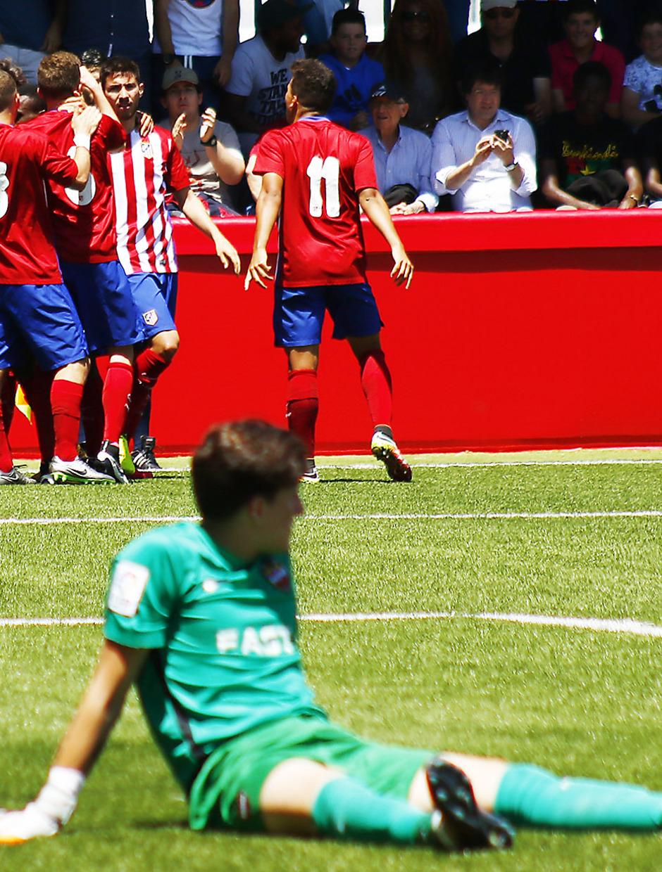 Temporada 15/16. Atlético de Madrid Juvenil de Honor - Levante UD Copa del Rey Juvenil