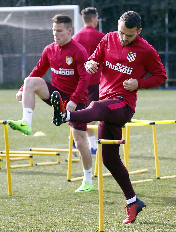 Temporada 16/17 | Entrenamiento en la Ciudad Deportiva Wanda | 09/02/2017 | Keidi Bare