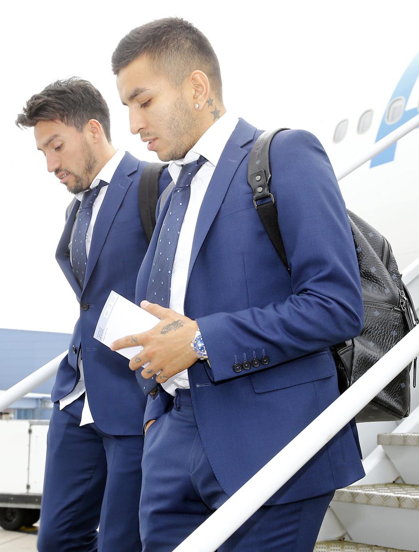 Temp. 2016-2017. Llegada equipo a Leicester