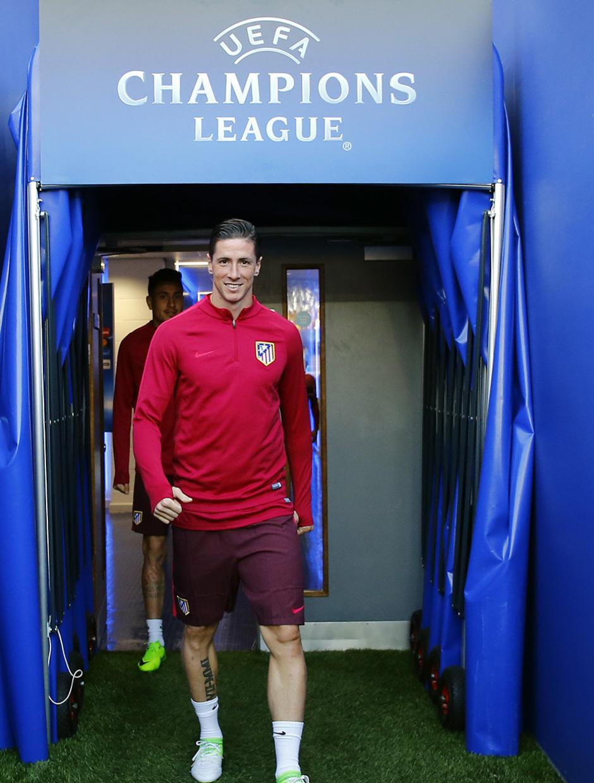 Temp. 2016/2017. Entrenamiento Liga de Campeones Leicester. Torres