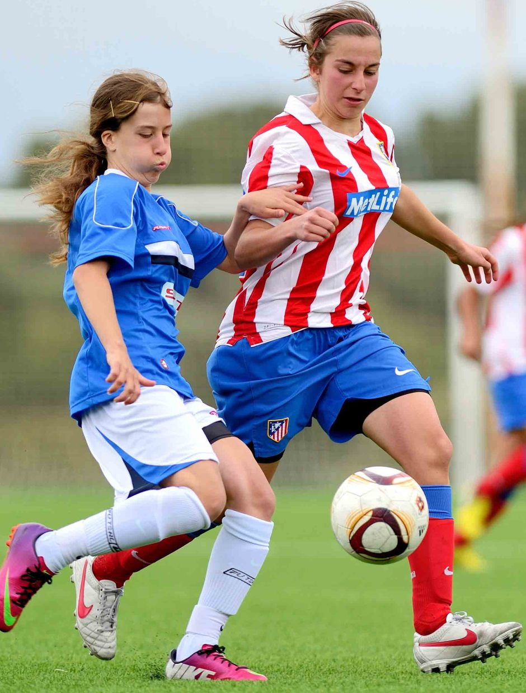 Temporada 2012-2013. Intensidad en la última jornada de Liga del Féminas D