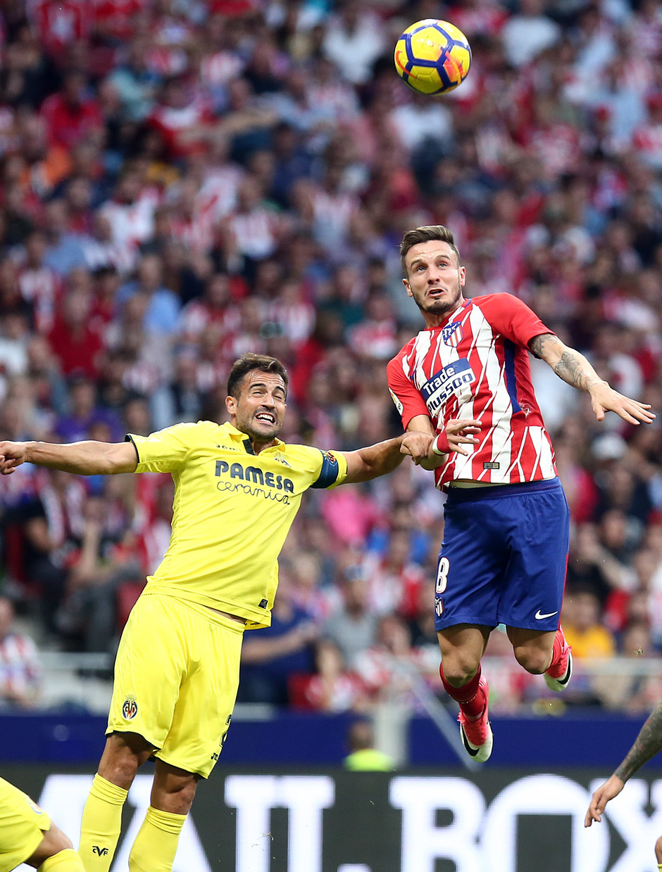 Temp. 17-18 | Atlético de Madrid-Villarreal | Saúl