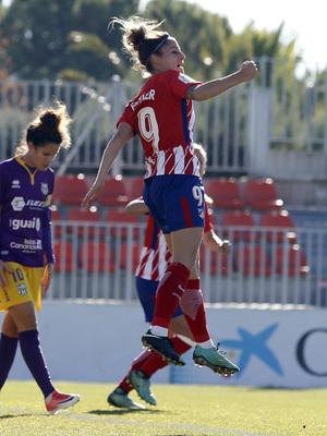 Atlético de Madrid Femenino - Granadilla | Celebración Esther González