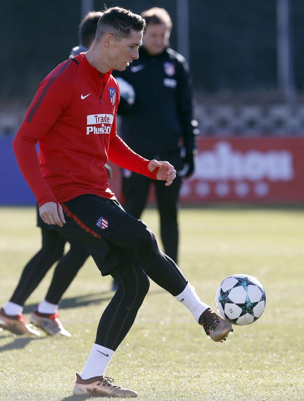 Temp. 2017-2018. Entrenamiento en la Ciudad Deportiva Wanda. Torres