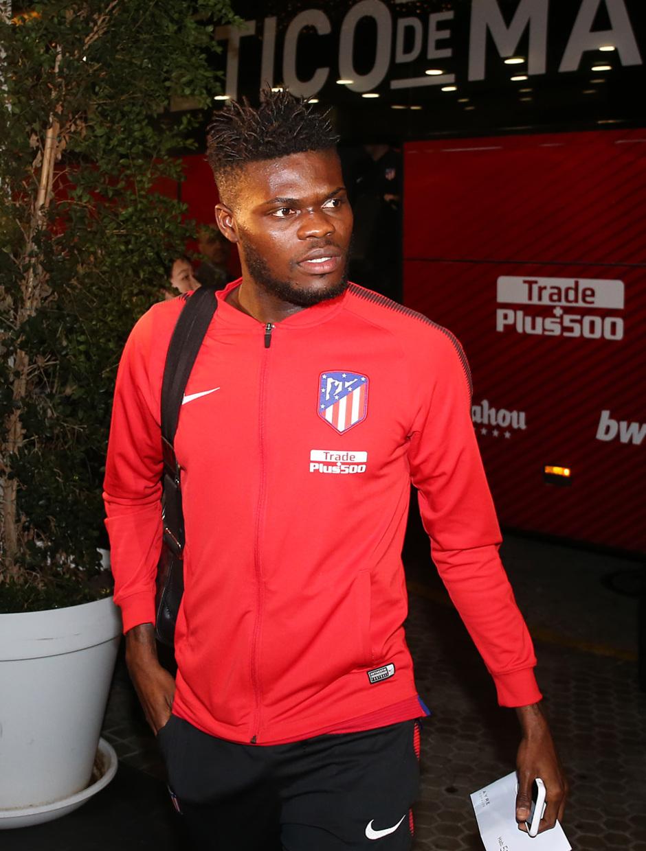 Temp. 2017-2018. Llegada a Sevilla. Thomas