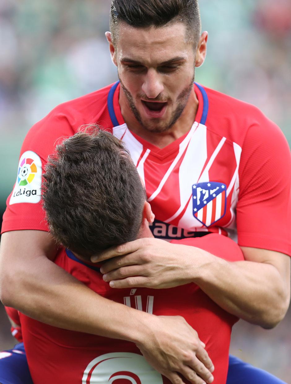 Temp. 17-18 | Betis - Atlético de Madrid | Celebración