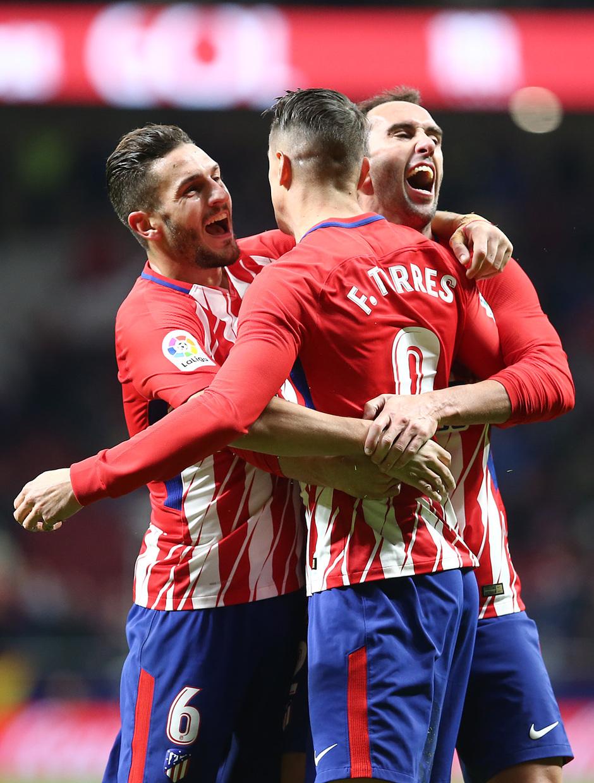 Temp. 17-18 | Atlético de Madrid-Alavés | Celebración