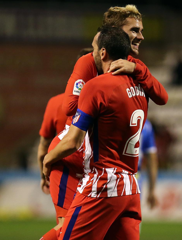 Temp. 17-18 | Copa del Rey | Lleida - Atlético de Madrid | Griezmann y Godín