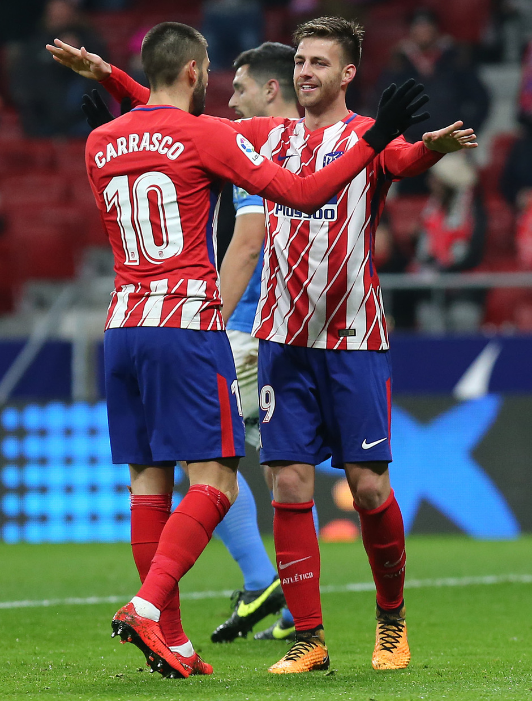 Temp. 17-18 | Atlético de Madrid - Lleida | Celebración
