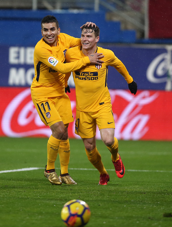 Temp. 17-18 | Eibar - Atlético de Madrid | Correa y Gameiro