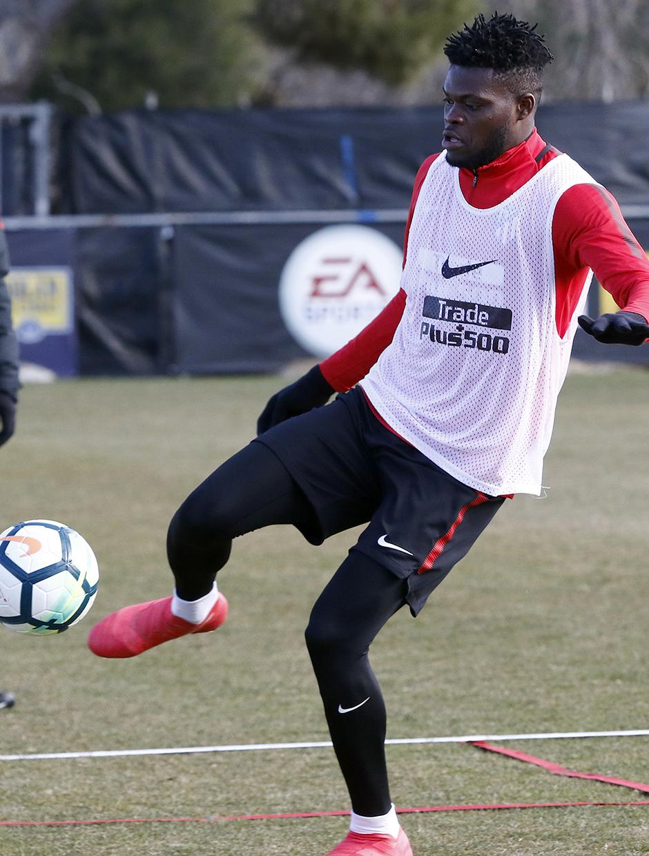 Temporada 17/18 | 09/02/2018 | Entrenamiento en la Ciudad Deportiva Wanda | Thomas