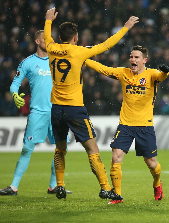 Europa League | Copenhague - Atleti - Gameiro y Lucas