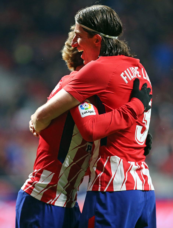 Jornada 26 | Atleti - Leganés | Griezmann y Filipe