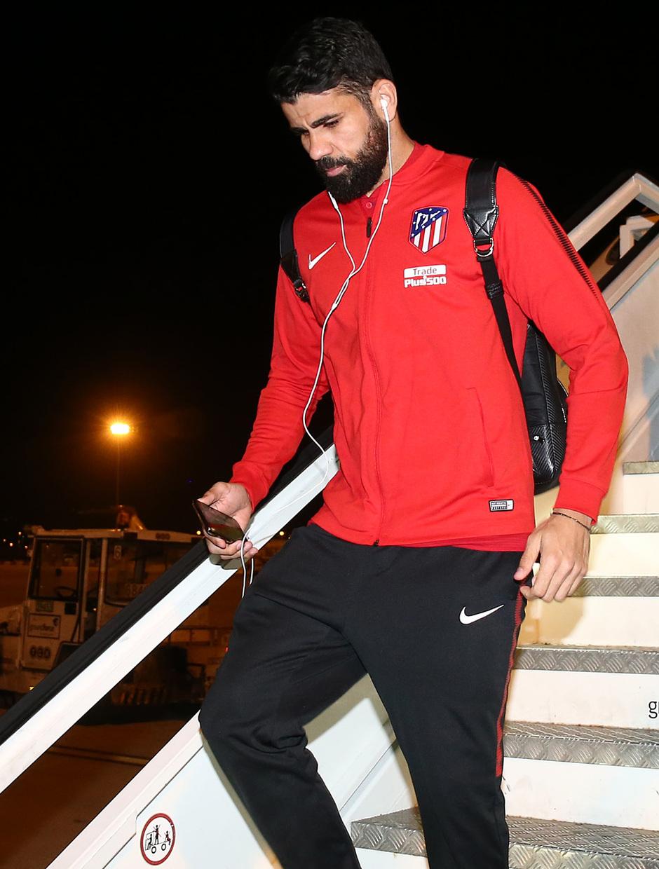 Llegada a Barcelona | Diego Costa