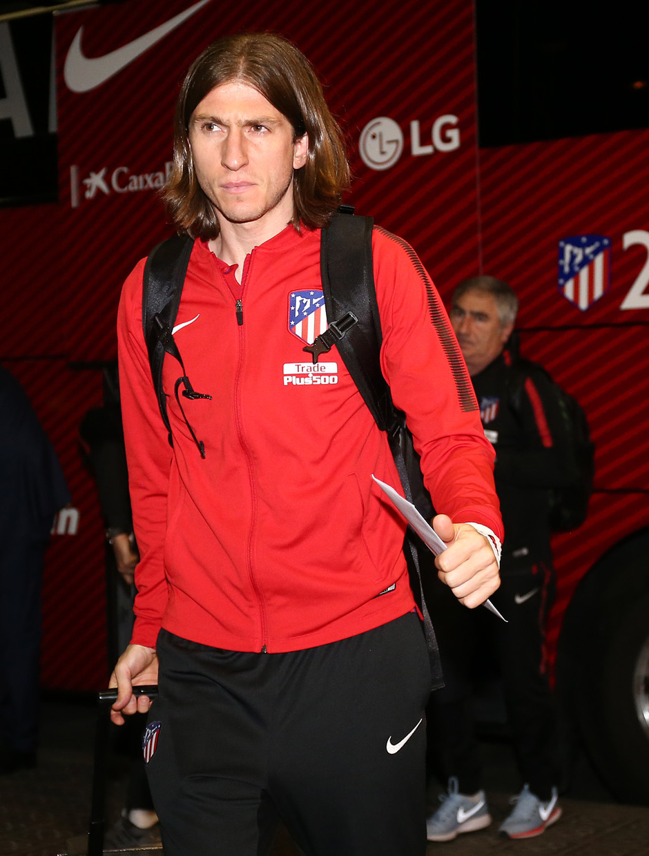 Llegada a Barcelona | Filipe Luis