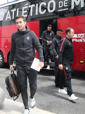 Temp. 17-18 | Europa League | Llegada a Lisboa | Gabi