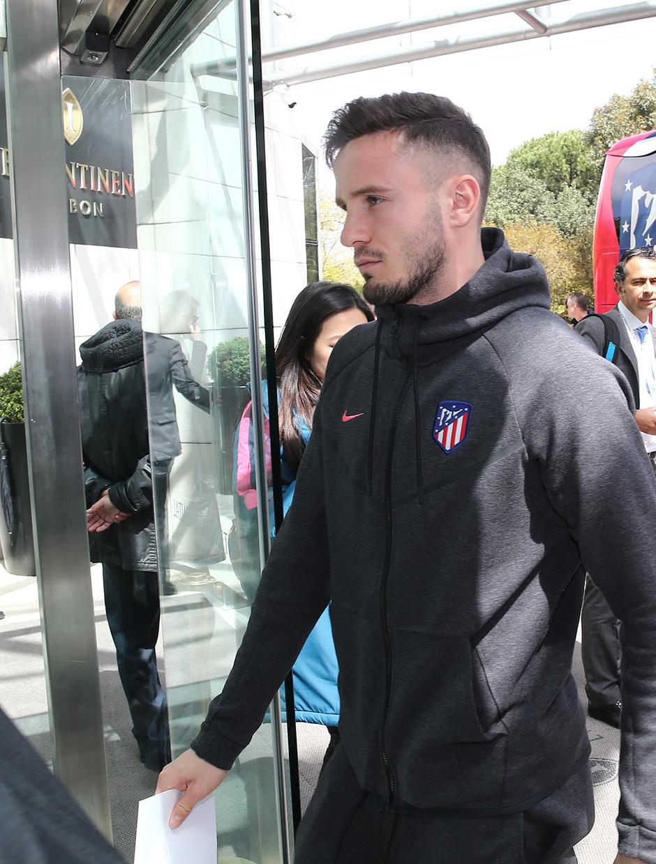 Temp. 17-18 | Europa League | Llegada a Lisboa | Saúl