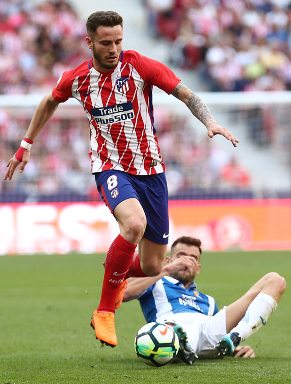 Temp. 17-18 | Atlético de Madrid - Espanyol | Jornada 36 | Saúl