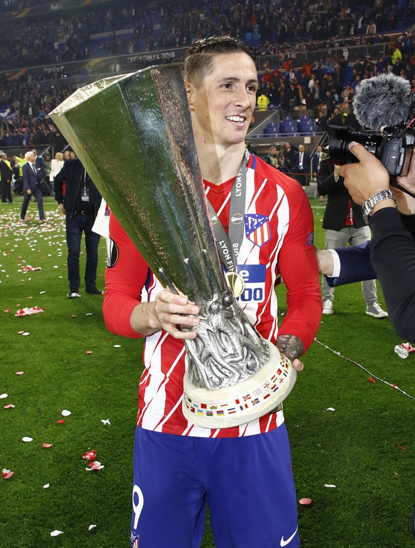 Temporada 17/18 | Final de Lyon de la Europa League | Olympique de Marsella - Atlético de Madrid | Fernando Torres