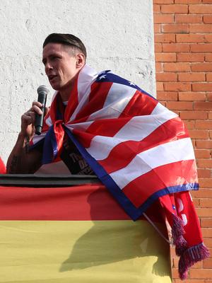Temp 17/18 | Atlético de Madrid y Atlético de Madrid Femenino | 18-05-18 | Fernando Torres
