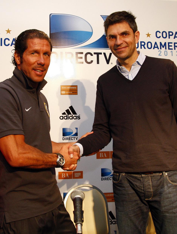 Temporada 12/13. Gira sudamericana. Rueda de prensa presentación del partido