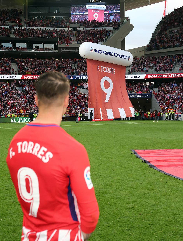 Temp. 17-18 | Atlético de Madrid - Eibar | Homenaje a Torres |