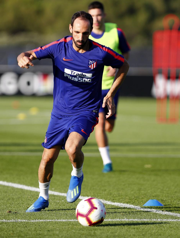 Temporada 18/19. Entrenamiento en la ciudad deportiva Wanda Atlético de Madrid. 13_07_2018. Juanfran.