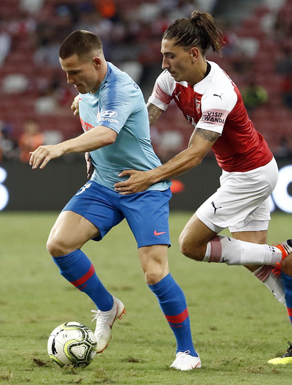 Temporada 2018-2019 | ICC Singapur  | Atlético de Madrid - Arsenal | Gameiro y Olabe