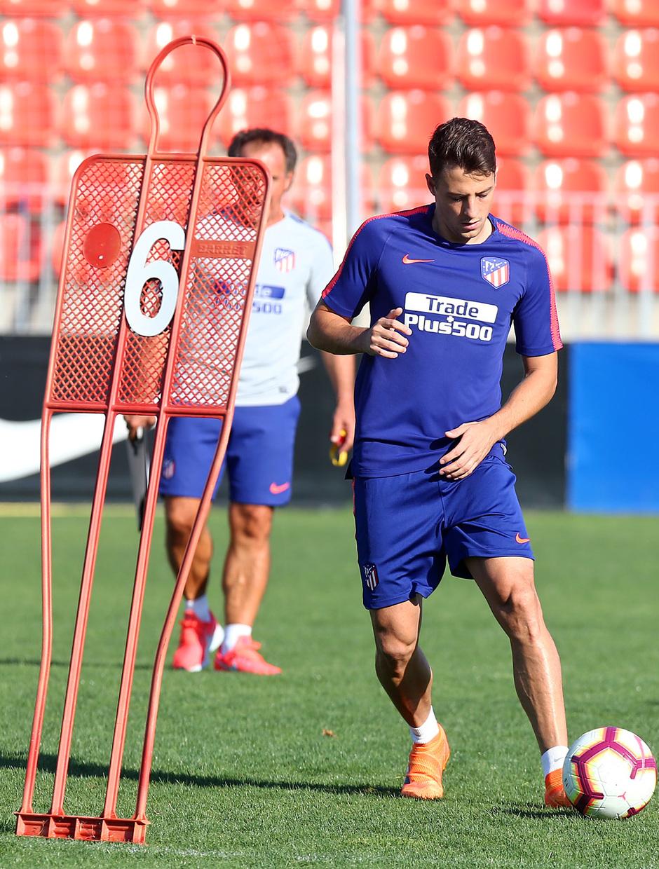 Temp 17/18 | Entrenamiento en la Ciudad Deportiva Wanda. Santiago Arias