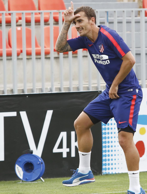 Temporada 18/19 | Entrenamiento del primer equipo | Griezmann