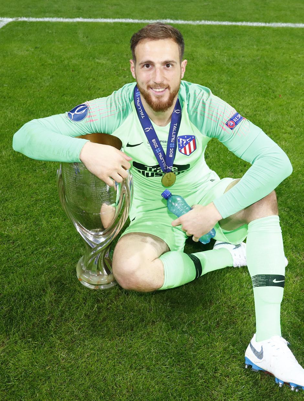 temporada 18/19. Supercopa de Europa. Oblak