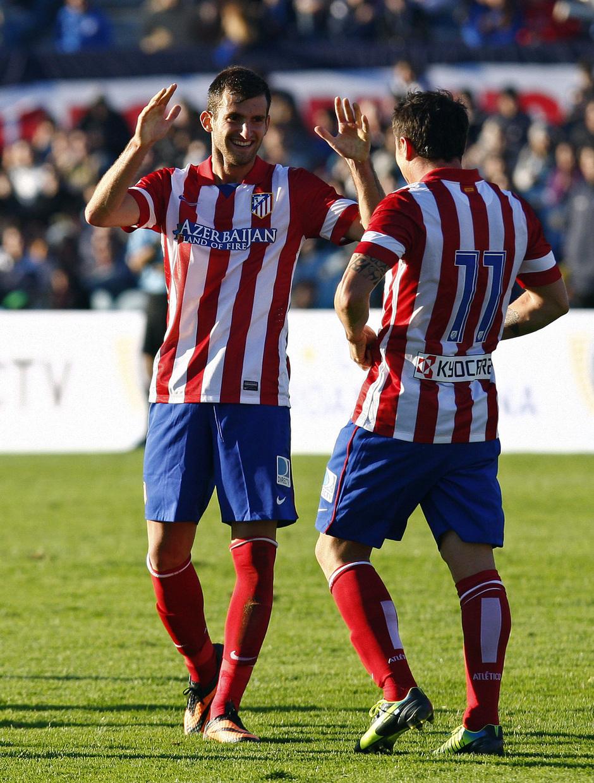 Temporada 13/14 Baptistao celebrando el gol