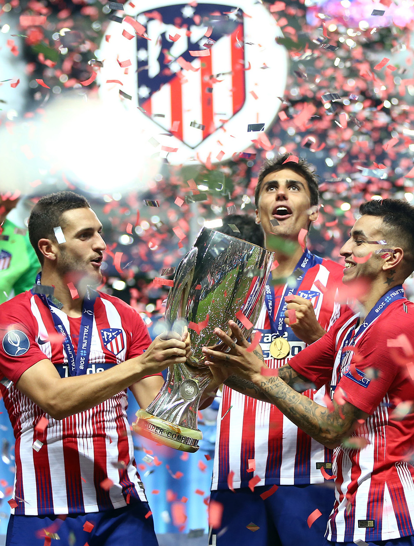 Temporada 2018-2019. Campeones Supercopa | Koke Correa Rodrigo