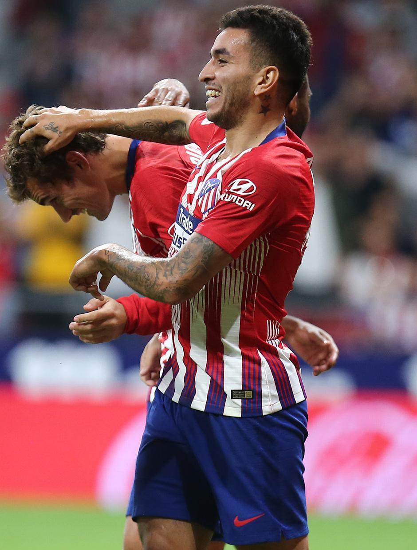 Temporada 2018-2019 | Atlético de Madrid- SD Huesca | Griezmann Correa
