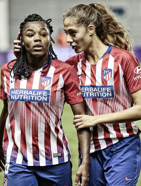 Temporada 18/19 | La otra mirada Manchester City - Atlético de Madrid Femenino | Ludmila y Laia