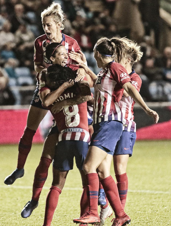 Temporada 18/19 | La otra mirada Manchester City - Atlético de Madrid Femenino | ´Celebración