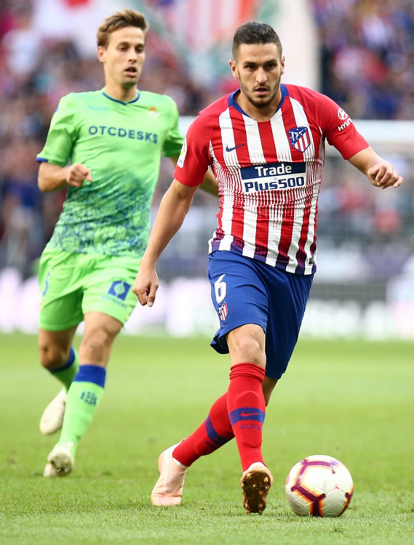 Temporada 2018-2019   Atlético de Madrid - Betis   Koke
