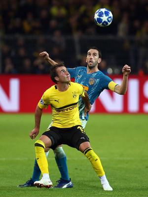 Temporada 2018-2019 | Borussia Dortmund - Atlético de Madrid | Godín